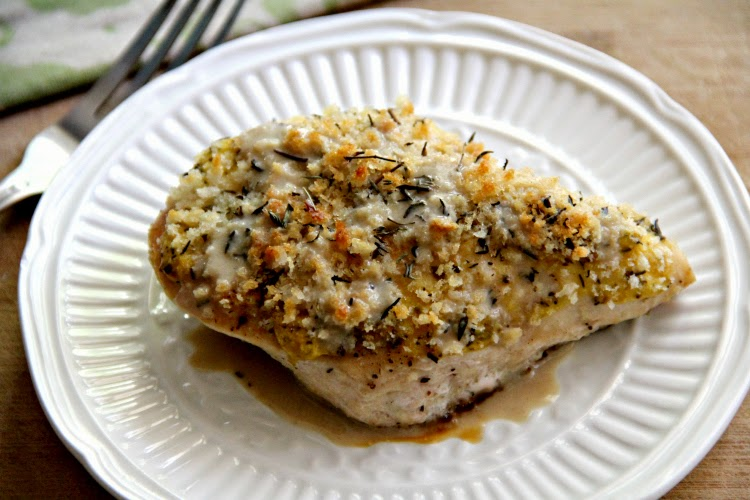 Patricia's PattiCakes: Panko Crusted Mustard-Glazed Chicken Breasts