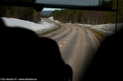 väg, Lappland