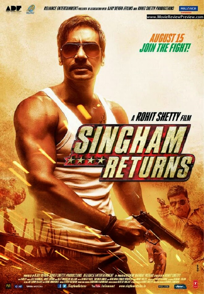 Jadwal Film SINGHAM RETURNS Platinum Cineplex Cibinong