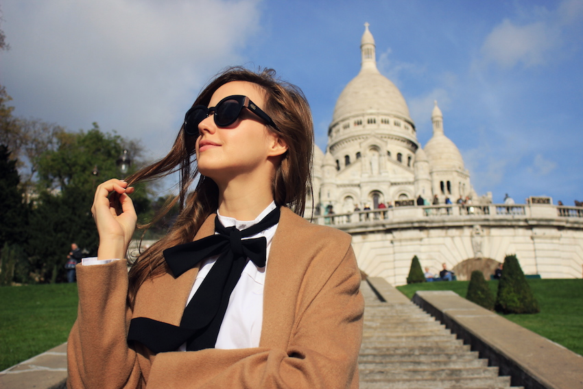 fashion blogger in paris