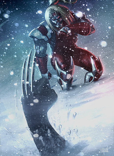 Omega Red Character Review (Vs Wolverine)