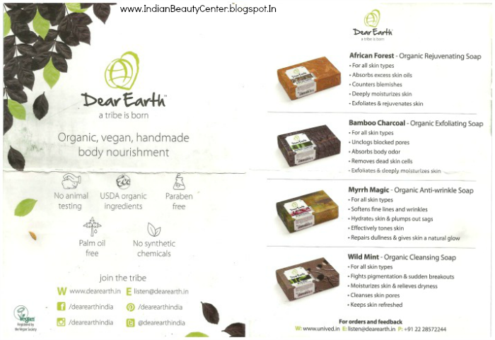 Unived Dear Earth Soaps
