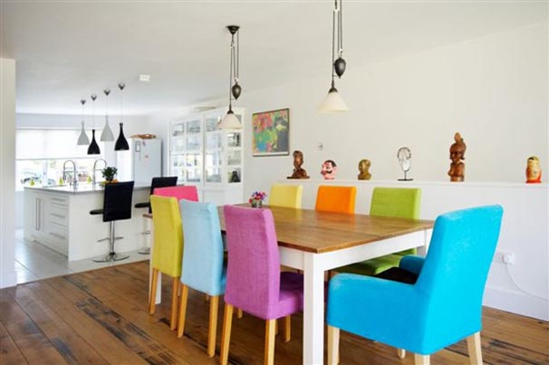 Home Design Ideas with Colorful Decorating