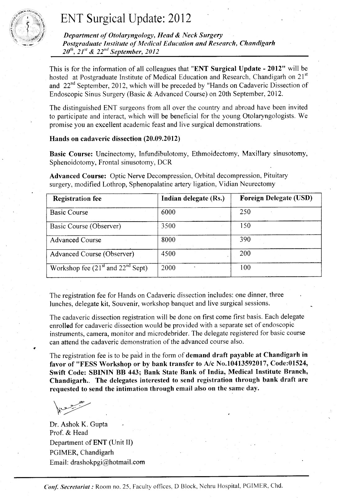 otolaryngology update  february 2012