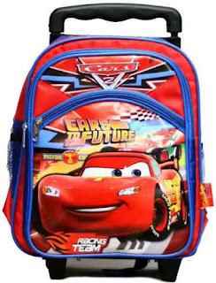 Tas Sekolah Anak Trolley