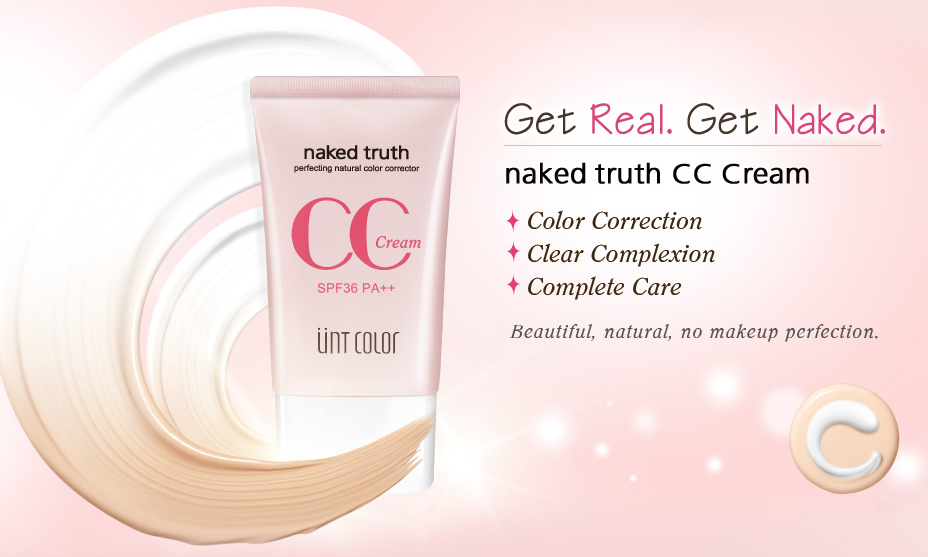PRE ORDER UNT Color Naked Truth CC Cream SPF36++ 40ml