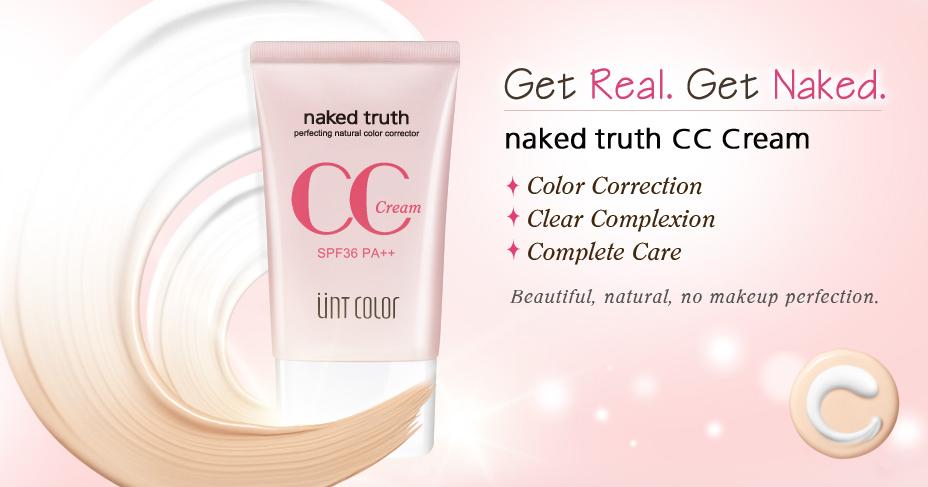 UNT Cosmetics | NAKED TRUTH CC CREAM
