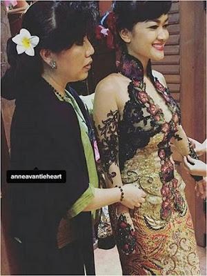 Foto Model Kebaya Wisuda Julia Perez Karya Anne Avantie