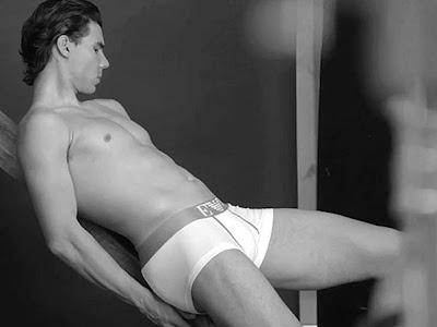 Rafael Nadal ensaio em preto e branco para a Empório Armani
