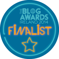 Irish Blog Awards Finalist 2014