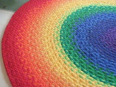 Dulcesilusionesdemarieta alfombras de trapillo al fin - Alfombras redondas infantiles ...