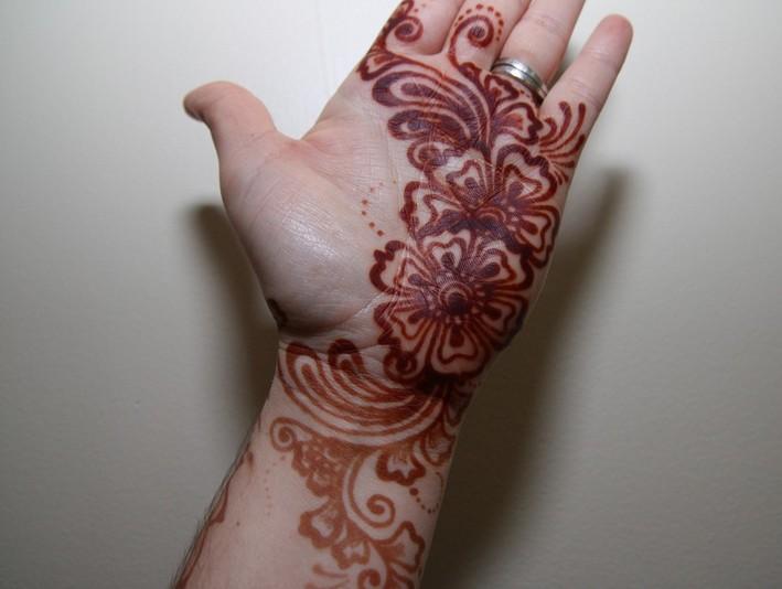 Mehndi Designs For Hands For Engagement : Mehndi design for hands girls engagement party trend