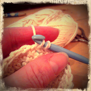 Crochet single stitch