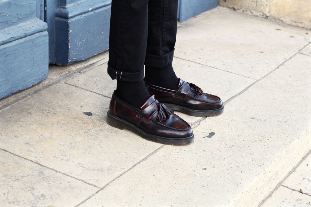 BLOG-MODE-HOMME_Preppy-style-fashion-river-island_drmartens-doc_loafers_mocassins-bordeaux - 2