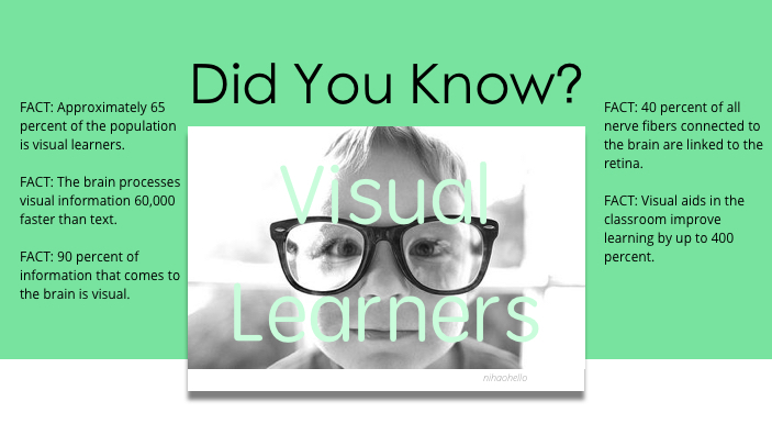 Did you know the facts about Visual Learners?