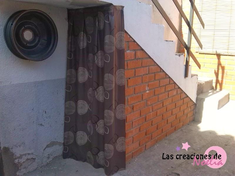 las creaciones de noelia cortina de hule para hueco de