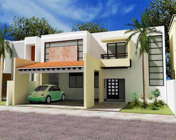 Fachadas de casas modernas noviembre 2012 - Fachadas de casas tradicionales de un piso ...
