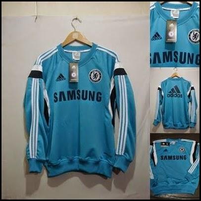 Sweater GO Chelsea Biru Muda