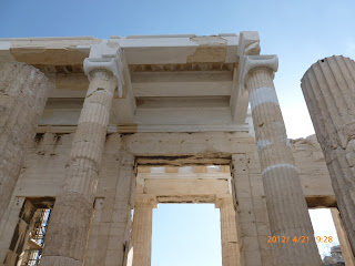 Entrance to Parthenon