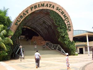 Ragunan Zoo Is A Located In The Area Sunday Market South Jakarta Indonesia An Of 140 Hectare Was Founded 1864