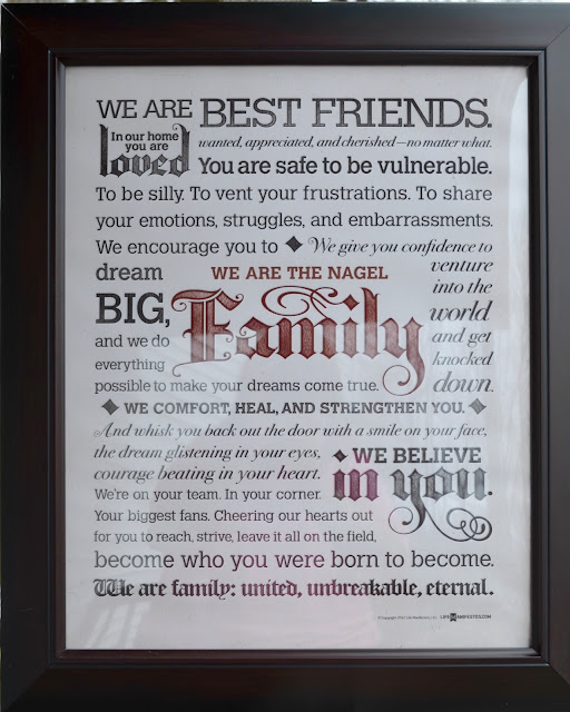 Personalized Family Manifesto Giveaway! (March 5th   March 12th)