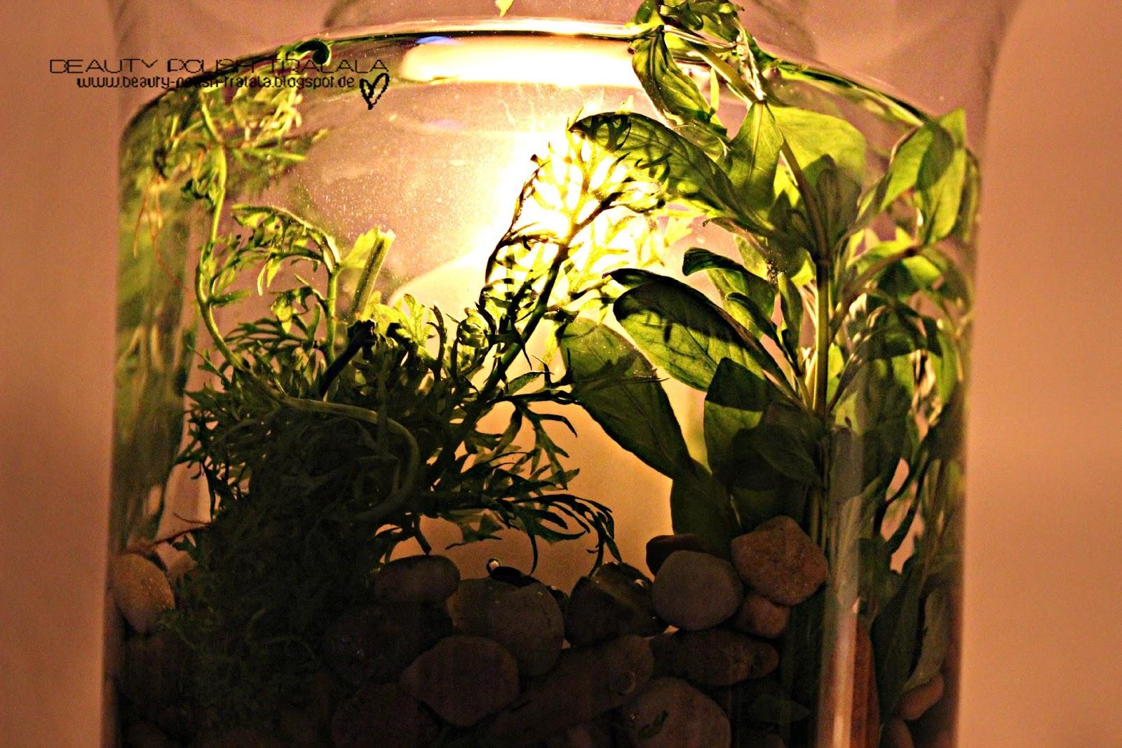 Beauty polish tralala diy windlicht unterwassergarten for Wasserpflanzen ikea