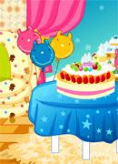 Комната для вечеринки - Онлайн игра для девочек