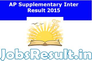 AP Supplementary Inter Result 2015