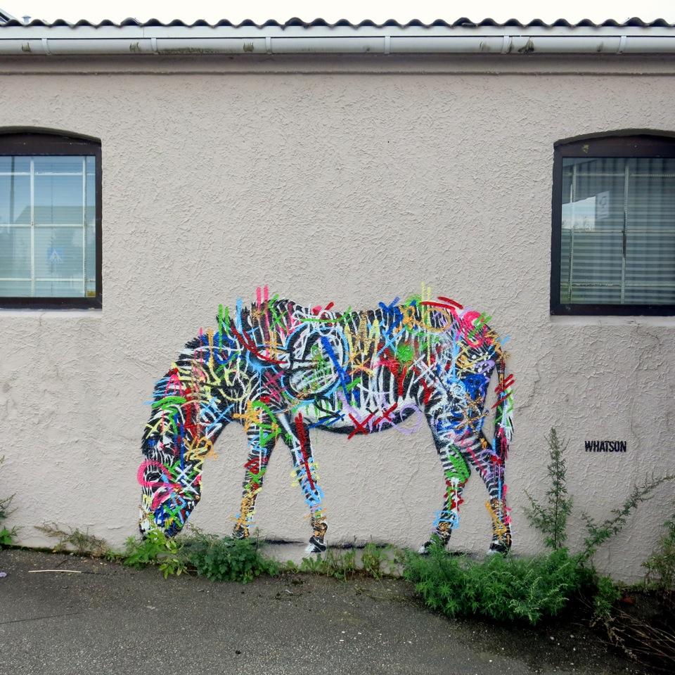 Martin whatson new murals for nuart 39 13 in stavanger for Mural street art