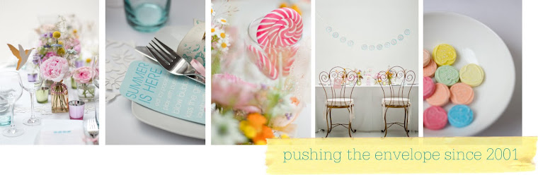 Pushing the envelope with trendsetting stationery and decor ideas.