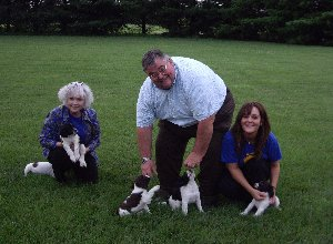 Hammett Family with pups