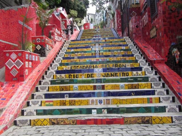 Street Stair Art Around The World
