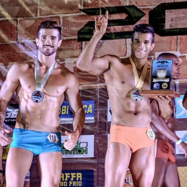 Pedro Lívio foi Campeão Overall Body Shape do Mr. Cabo Frio 2014 Foto: Alencar Amaral
