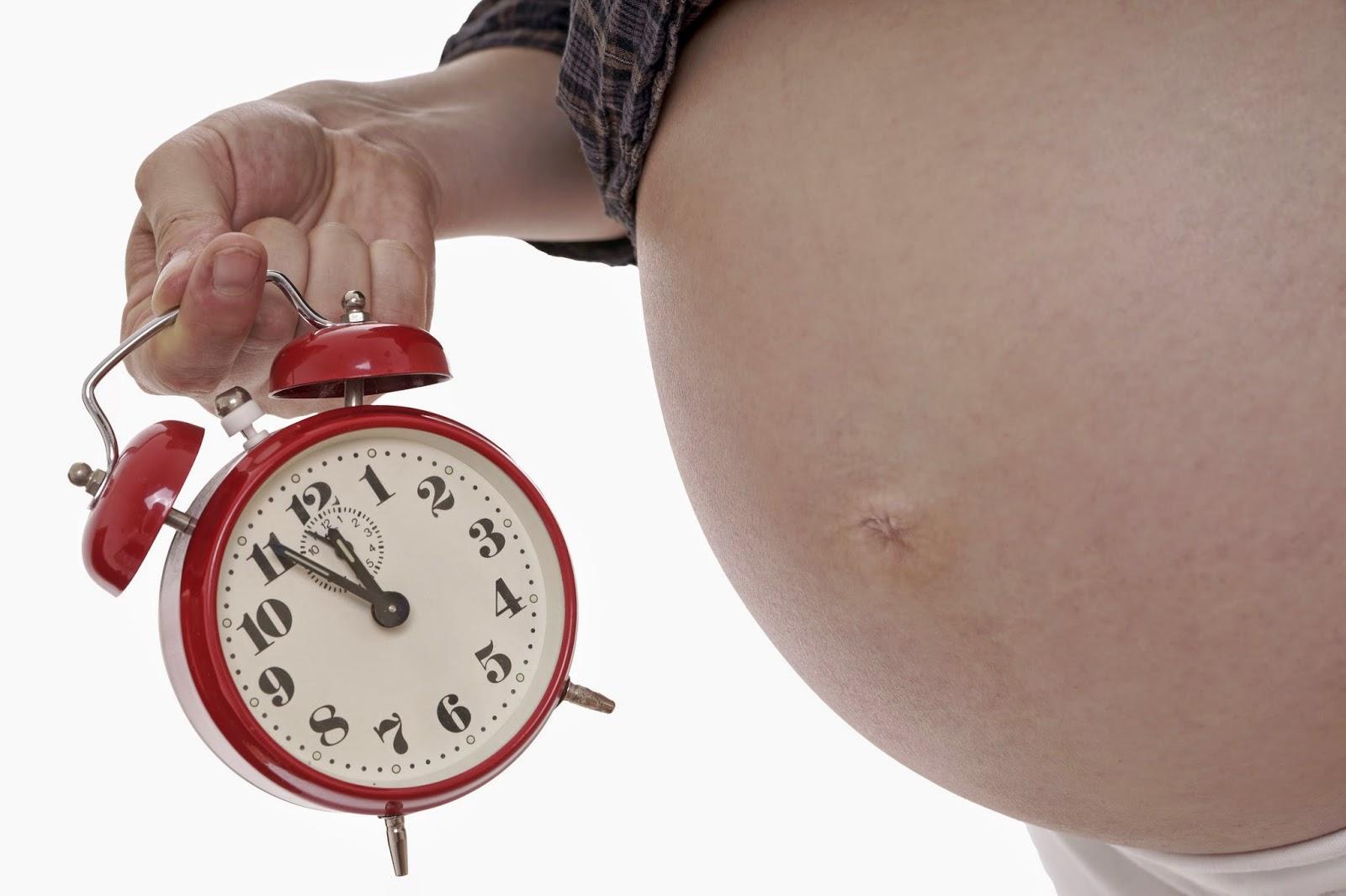 hamil terlebih hari