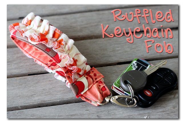 How to make key fob keychains