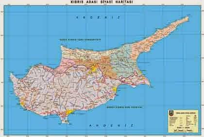 K�br�s Adas� Siyasi Haritas�