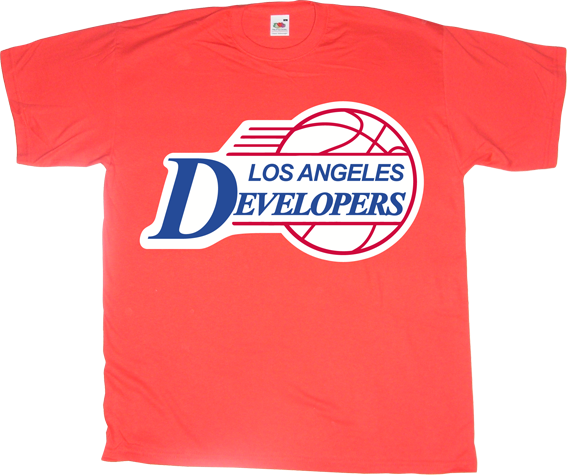 steve ballmer microsoft fun developer los angeles clippers t-shirt ephemeral-t-shirts