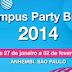 Campus Party 2013 - Primeiras Informações #cpbr7