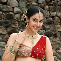 glorious sexy Divya gorgeous in ethnic indian dress hot photos from rajakota rahasyam movie