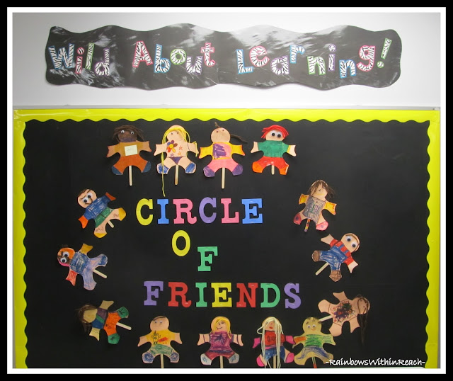 photo of: Circle of Friends Via RainbowsWithinReach Bulletin Board RoundUP