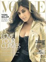 Vidya, Balan, Sizzling, on, The, Vogue, Magazine