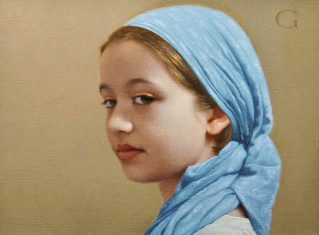 Pintura moderna y fotograf a art stica pinturas de ni os - Retratos de ninos al oleo ...