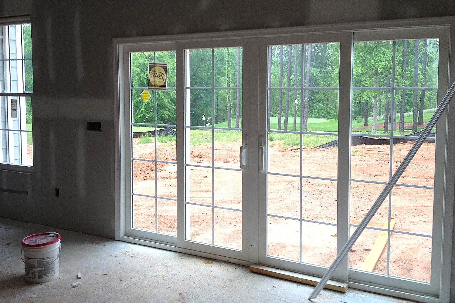 Sliding french door to deck for Sliding door in french