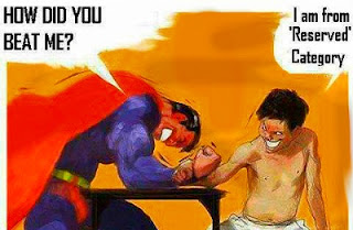 Reservation in India superman quotes Category arm wrestling