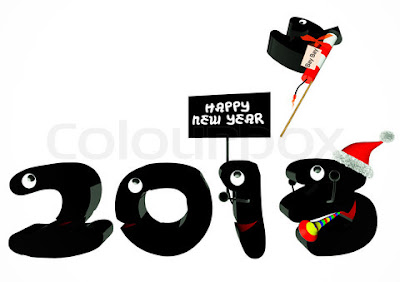 Happy New Year Day 2013 Photo Cards