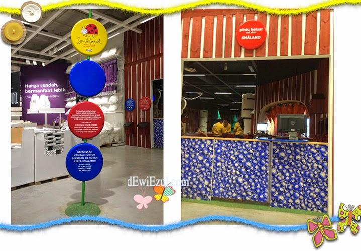area permainan anak di IKEA Jakarta indonesia
