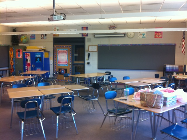 High School Math Classroom Design : Middle school math rules classroom set up