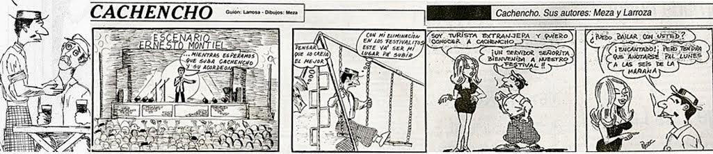"""Humor federalense en la década del '80. semanario """"El federal"""". Víctor larroza y Miguel Meza"""