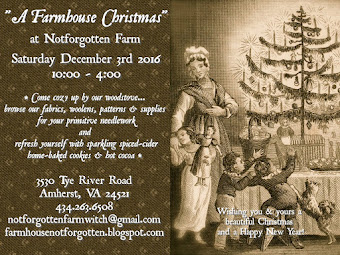 A Farmhouse Christmas Open House at Notforgotten Farm