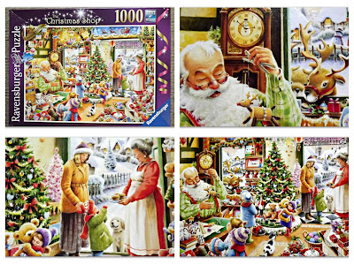 Ravensburger, Ravensburger puzzle club, Ravensburger reviews, 1000 piece puzzle, jigsaw puzzle, The Christmas Shop, review, Christmas ideas, stocking filler